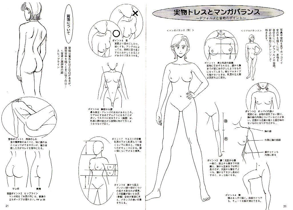 http://www.dibujando.net - tutoriales - Anatomia Femenina